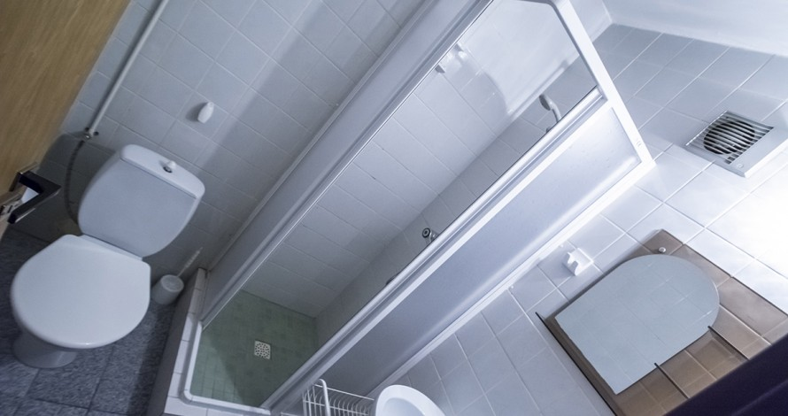 JD Penzion interiér koupelny